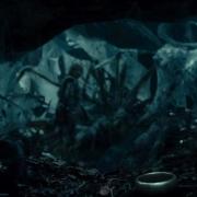 Bilbo y el Anillo en el Bosque Negro