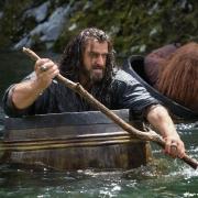 Thorin lucha con la corriente