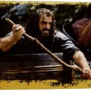 Thorin en un barril