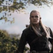 Legolas Hojaverde en el bosque