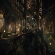 La sala del trono de Thranduil