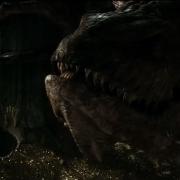 Conversación entre Bilbo y Smaug