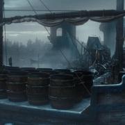 La barca de Bardo en Esgaroth
