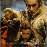 Legolas, Tauriel y Thranduil