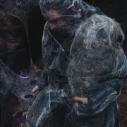 Thorin cubierto de telarañas