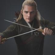Legolas, un Elfo diestro en el combate