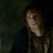 Bilbo adulando a Smaug