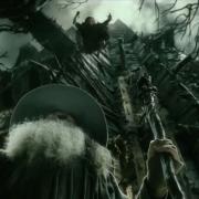 Thráin ataca a Gandalf en Dol Guldur