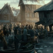 El mercado de Esgaroth