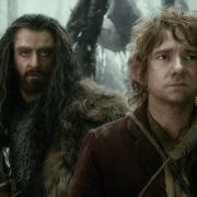 Thorin y Bilbo en el bosque