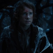 Bilbo persigue a las arañas