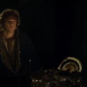 Bilbo habla con Smaug