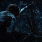 Bilbo, atacado por una araña