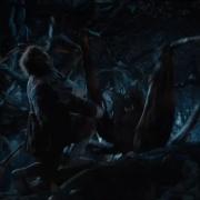 Bilbo, atacado por una araña2