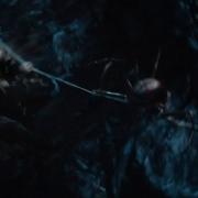 Legolas persigue a una araña