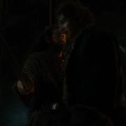 Thorin impide el paso a Bilbo
