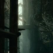 Gandalf y Thráin en Dol Guldur