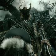 Thráin ataca a Gandalf por sorpresa