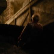 Bilbo escapa del palacio de Thranduil
