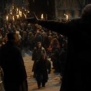 El Gobernador de Esgaroth da la bienvenida a Thorin