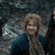 Dwalin, Ori, Bilbo, Thorin y Glóin