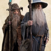 Radagast y Gandalf