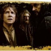 Bilbo, Nori y Thorin