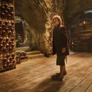 Bilbo en la bodega de Thranduil