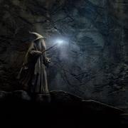 Gandalf en las tumbas de los Nazgûl