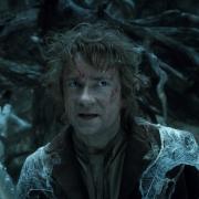 Bilbo se enfrenta a las Arañas