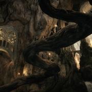 Las cavernas del palacio de Thranduil