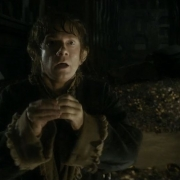 Bilbo se pone el Anillo
