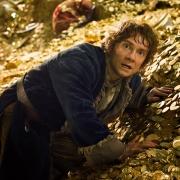 Bilbo en el tesoro de Smaug