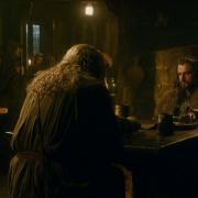 Gandalf y Thorin en Bree