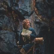 Bilbo con el mapa de Thrór