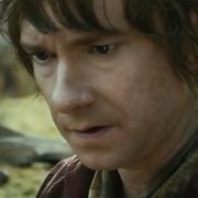 Bilbo preocupado por el Anillo