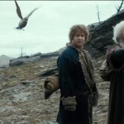 Thorin, Bilbo y Balin en la Desolación de Smaug