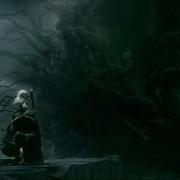 Gandalf y Thráin ante Sauron