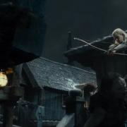 Legolas mata a un Orco en Esgaroth