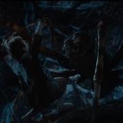 Bilbo, atacado por una araña4