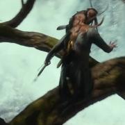 Los Elfos persiguen a los barriles