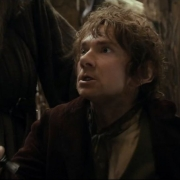 Bilbo, preparado para luchar