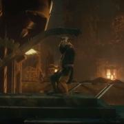 Bilbo en las fraguas de Erebor