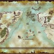 Mapa de Arda (italiano)