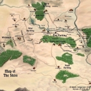Mapa de las Cuatro Cuadernas