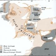 Mapa político de la Tierra Media en la Cuarta Edad