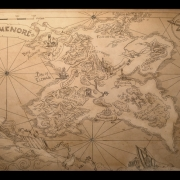 Otro mapa de Númenor de amegusa