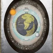 Mapa del cosmos de Arda, de Robert Altbauer