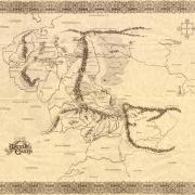 Mapa sepia TM