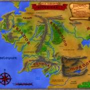 Mapa color TM